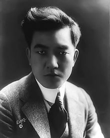 I present to you good people, Sessue Hayakawa, silent film movie stud.  First off, just look at this guy. Yum.  He was a Japanese immigrant and one of the few Asian actors to reach fame in Hollywood. He is actually *the* original heartthrob of cinema, making all the ladies swoon (and it's not hard to see why).  From wikipedia:    His popularity, sex appeal and extravagant lifestyle (such as hosting wild parties and driving a gold-plated Pierce-Arrow) caused tension within American society…