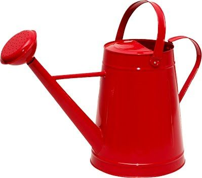Tierra Garden 36-5081R Traditional Watering Can, 2.1-Gallon, Red