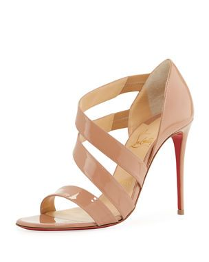 c3a2f6c81ae X4BWG Christian Louboutin World Copine Red Sole Pumps