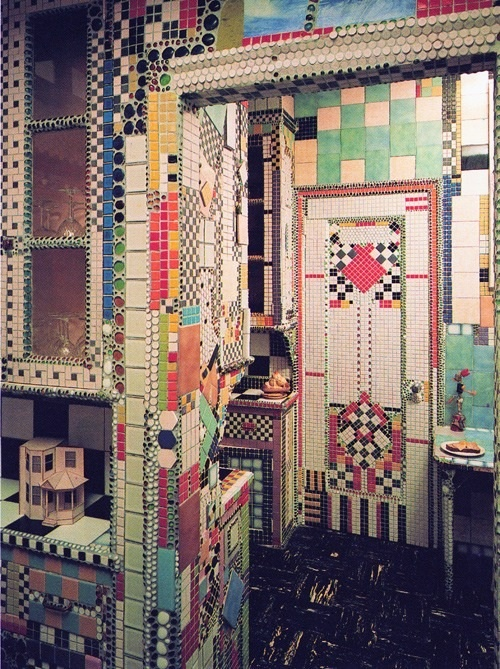 Coloured tiles amaze!