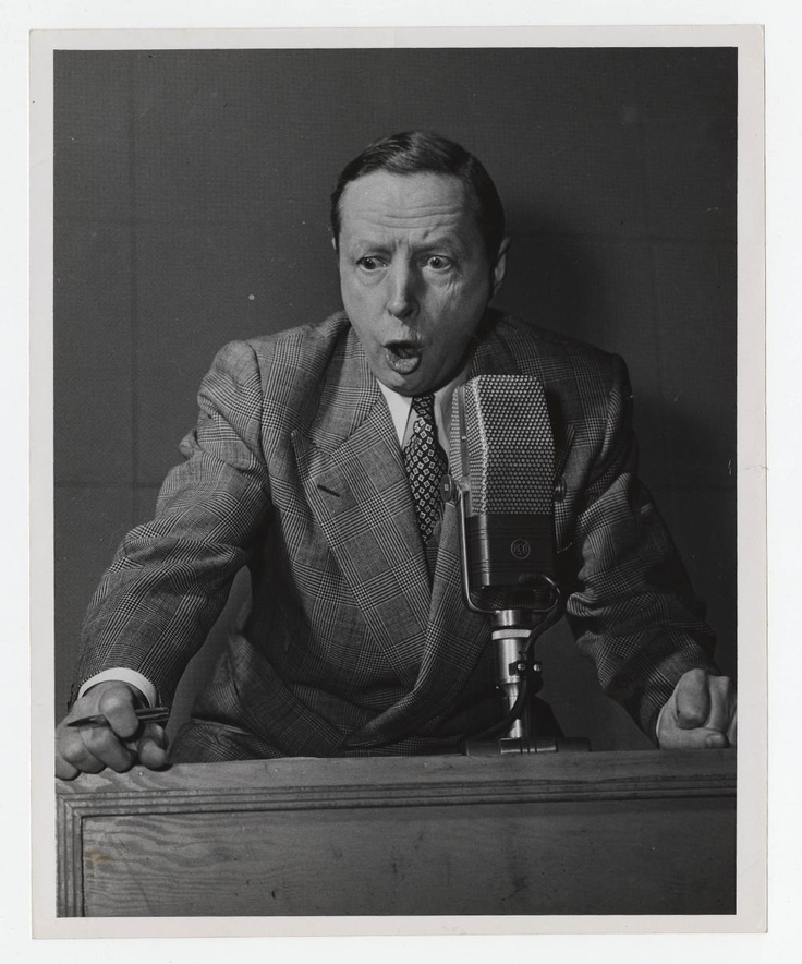 """Legendary hockey broadcaster Foster Hewitt 