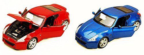 2009 Nissan 370Z, SET OF 2   Maisto 34200   1/24 Scale Diecast Model Toy Cars. #Nissan #Maisto #Scale #Diecast #Model #Cars