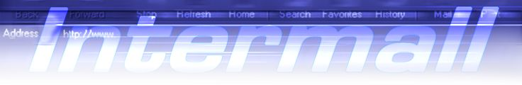 """by Argiro Stavrakou """"Intermall"""" (e commerce and Web) Banner. Year 2000"""