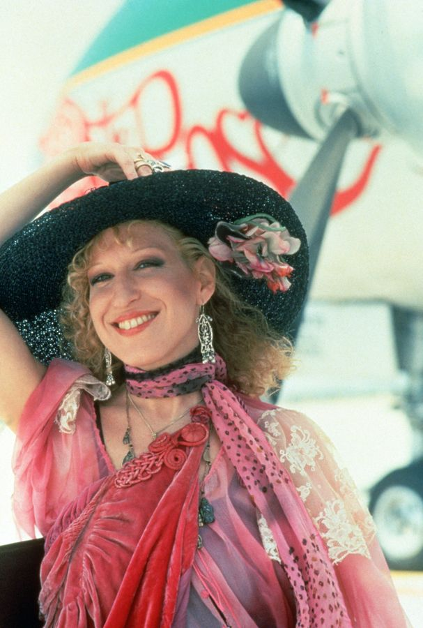 "Bette Midler on the set of ""The Rose"""