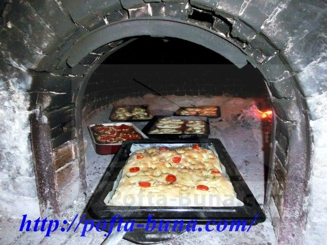 Focaccia de casa italiana