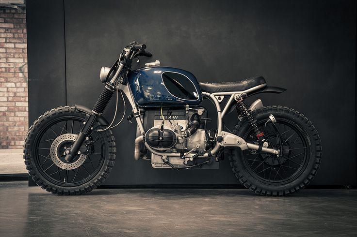 Beautifully modified BMW boxer twin