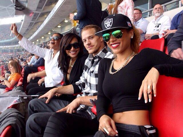 Dorsey  Girlfriends Siera  Naya Rivera  Naya Smokin  Naya Mom  Brother    Naya Rivera And Her Mom