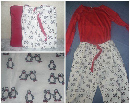 mi Pijama - pingüino