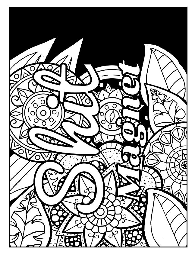 413 Best Printable Coloring Pages Images On Pinterest