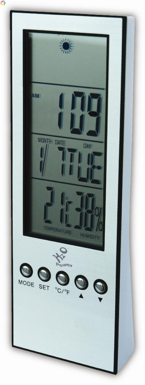 This Water Powered Weather Station provides everyone a precise weather forecast. Aside from providing weather information, it also measures room temperature, humidity and time.