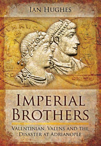 Imperial Brothers: Valentinian, Valens and the Disaster at Adrianople:   The latest of Ian Hughes' Late Roman biographies here tackles the careers of the brother emperors, Valentinian and Valens. Valentian was selected and proclaimed as emperor in AD 364, when the Empire was still reeling from the disastrous defeat and death in battle of Julian the Apostate (363) and the short reign of his murdered successor, Jovian (364). With the Empire weakened and vulnerable to a victorious Persia ...