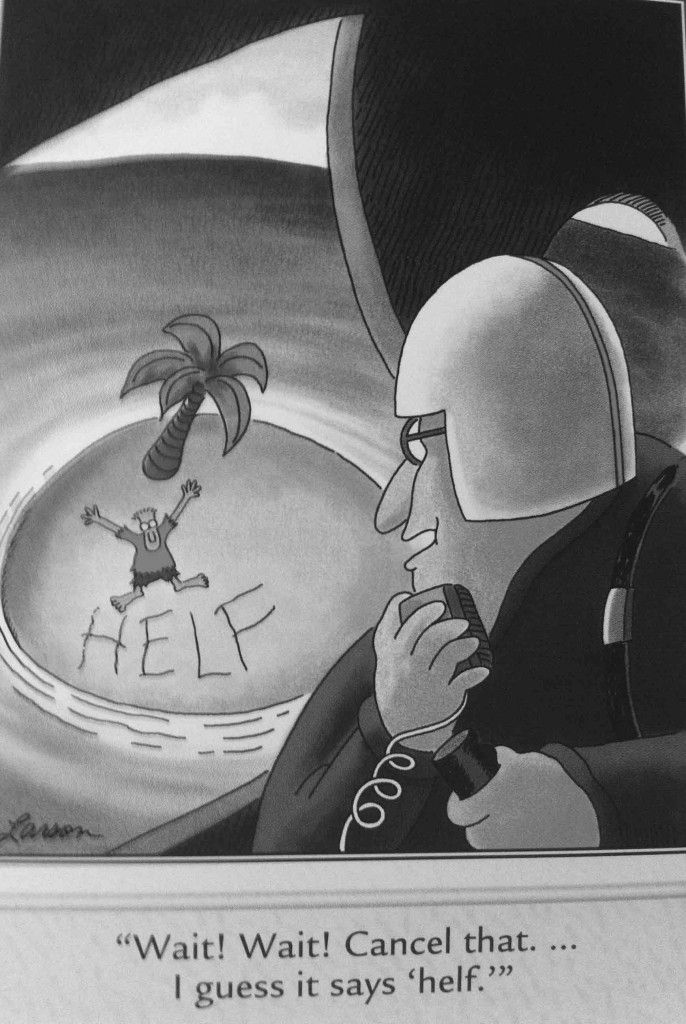 A brief analysis of ten of the best Far Side cartoons! My favorite carton strip of all time!
