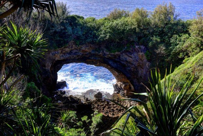 Natural Archway - Eua, Tonga