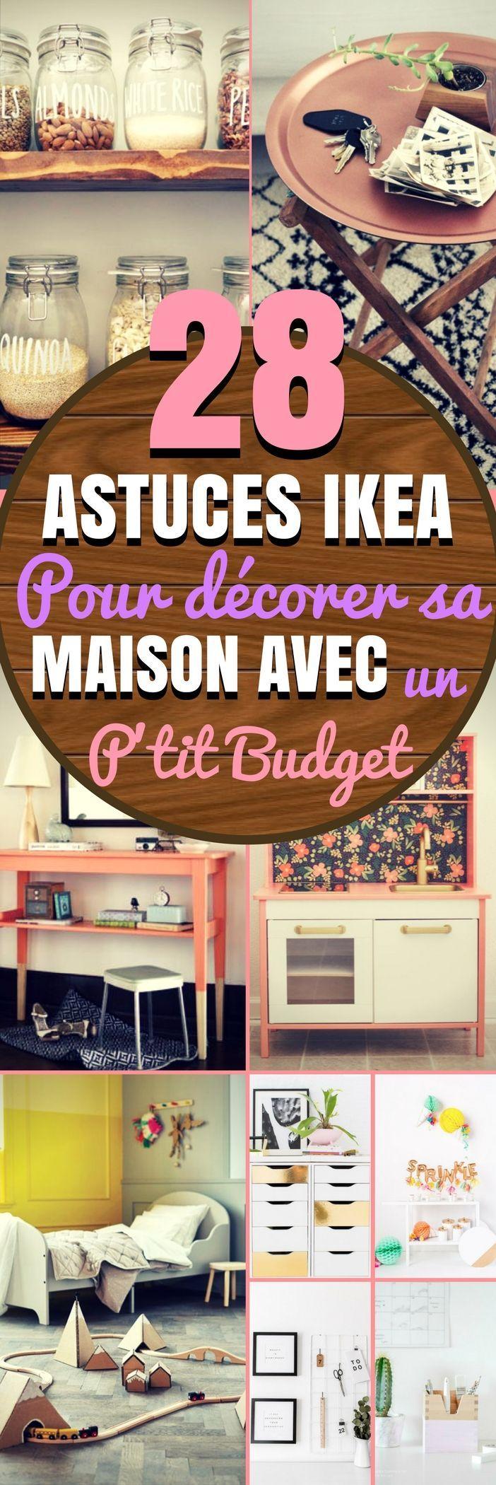 Soyons honnêtes, décorer une maison peut rapidement devenir chère ! Mais si vous ne voulez pas dépenser une fortune en décoration, il existe une multitude de détournement de meubles IKEA à faire (et qui ne coûte pas cher). Voici donc des idées pour relooker vos meubles Ikea. Le Relooking ikea c'est tout un art ! Dans cet article, nous nous sommes concentrés sur des astuces de l'enseigne IKEA. Il faut savoir que beaucoup de meubles IKEA... #ikea #deco #decoration #idéesdéco #astuces…