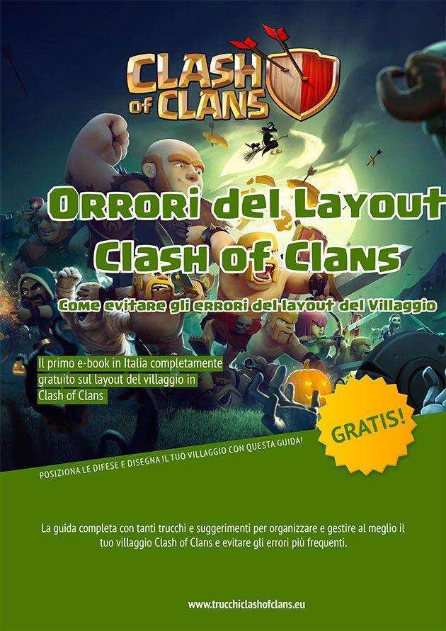 E-Book – Orrori del Layout dei villaggi Clash of Clans