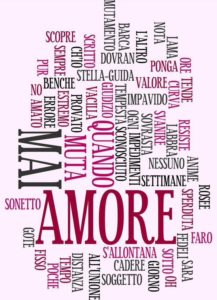 """""""Sonetto n. 116"""", di William Shakespeare"""