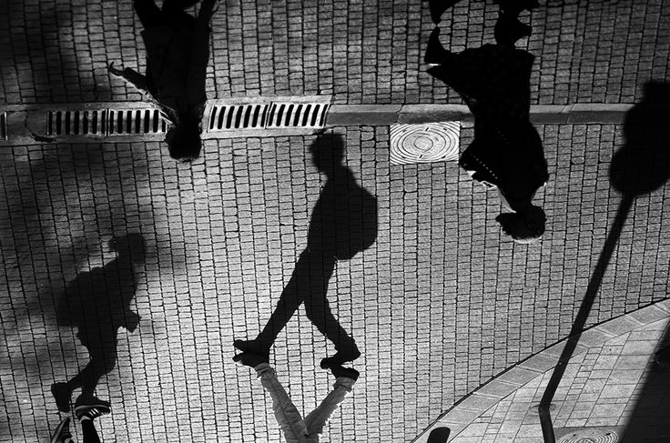 The Brooding Black and White Photography of Guy Cohen silhouettes shadows black and white
