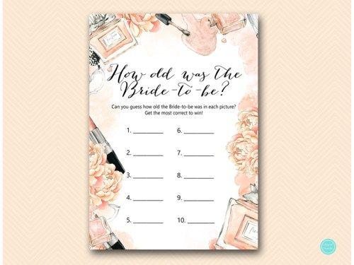 BS518-how-old-was-bride-tobe-makeup-bridal-shower-game #babyshowerideas4u #birthdayparty #babyshowerdecorations #bridalshower #bridalshowerideas #babyshowergames #bridalshowergame #bridalshowerfavors #bridalshowercakes #babyshowerfavors #babyshowercakes