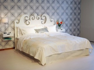 Curly bed frame by SB Nord