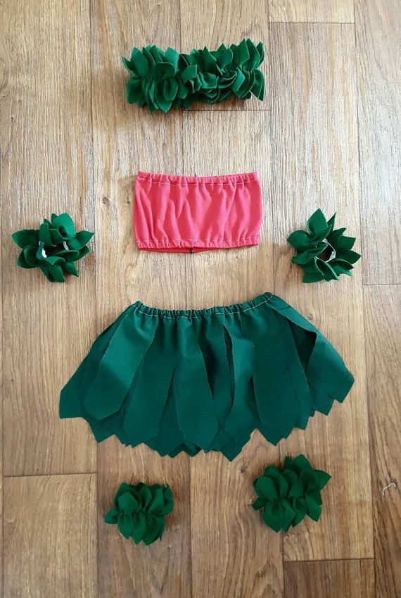Handmade Lilo Hula Costume by BlossomandBloomKids on Etsy                                                                                                                                                                                 More