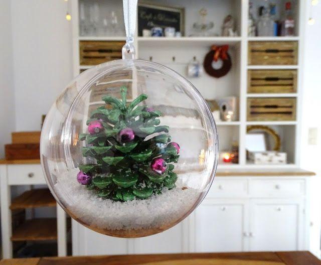 Anti-Langeweile-Ideen: Bockerlbasteleien   veronicard Basteln mit Kindern, Weihnachtsbasteln  #Christmasdiy #weihnachtsdiy #bastelnmitkindern #kiefernzapfen #pinecones