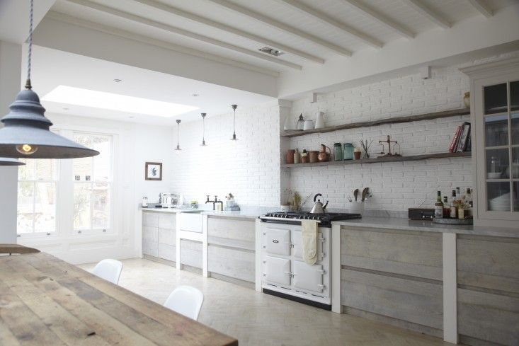 Blakes London, Designer Is In, Scandi Renovation Kitchen, White Aga | Remodelista