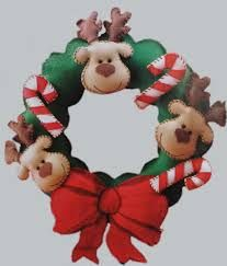 felt christmas christmas things felt crafts wreaths molde papa noel christmas dolls feliz navidad christmas wreaths