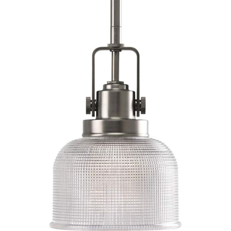 "View the Progress Lighting P5173 Archie 1 Light Dome Pendant with Double Prismatic Glass - 6"" Wide at Build.com."