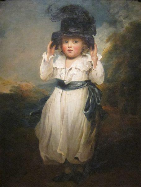 'The Hon. Alicia Herbert as a Child' by John Hoppner, c. 1795: