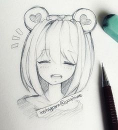 Image result for anime girl drawing – #anime #draw…
