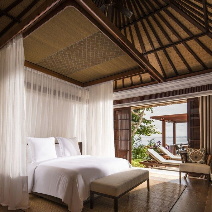 Bali style bedroom