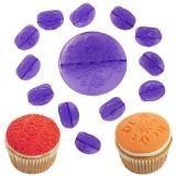 Набор для украшения кексов Цветы, 14 предметов