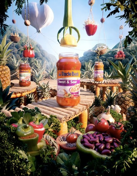 carl warner's foodscapes — art , carl warner , cool stuff , photography — art happy