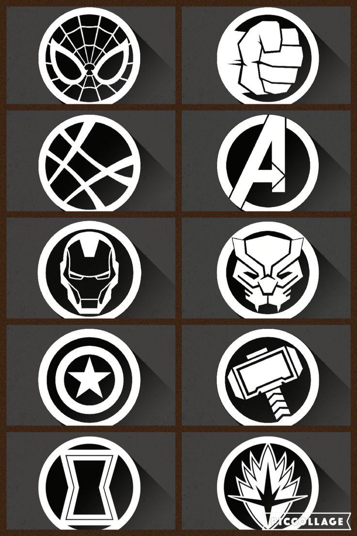 marvel avengers symbols wwwpixsharkcom images
