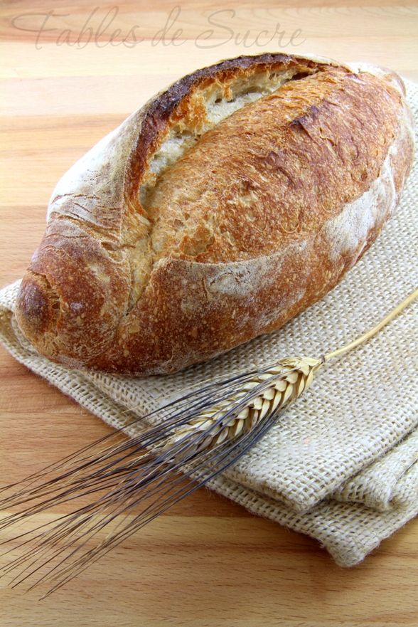 Pane con lievito madre di Giorilli | Fables de Sucre