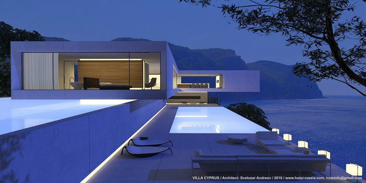 "VILLA CYPRUS / Architect: Svetozar Andreev / 2010 / www.hotei-russia.com, hoteinfo@gmail.com ""the sound"""