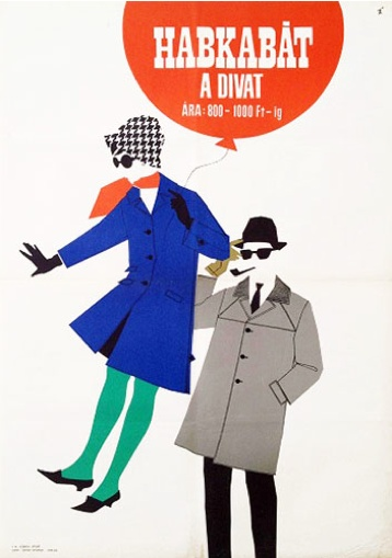 By Magda Vörösmarty, 1 9 6 5, The puffy coat is trendy.