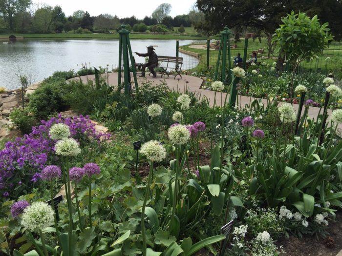 Overland Park Arboretum and Botanical Gardens, Overland Park, Kansas.