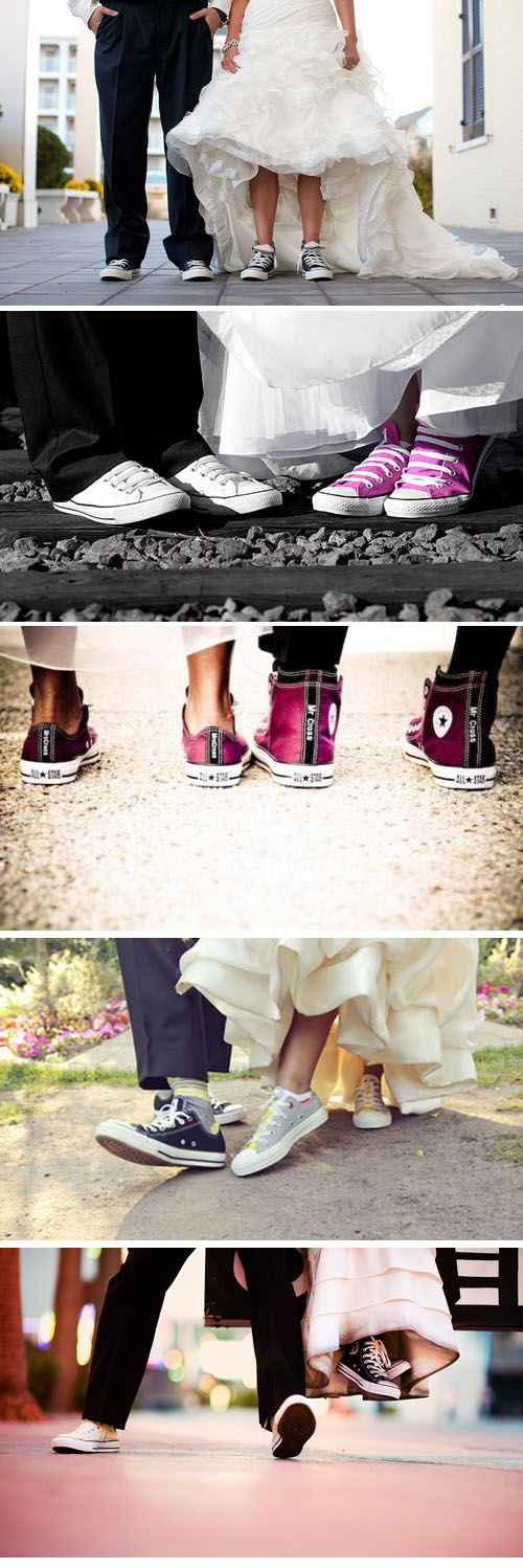 Definitely wearing converses at my wedding :)