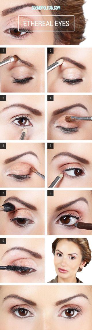 Makeup How To Apply Champagne Eyeshadow - Eye Makeup Tutorial