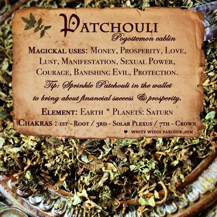 herb, botanical, patchouli, lust, desire, manifestation, spells, witchcraft, witch, patchouly, love, money, riches, www.whitewitchparlour.com