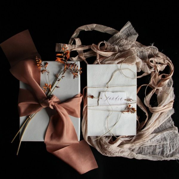 Geschenkideen mit Seiden- und Weidenband