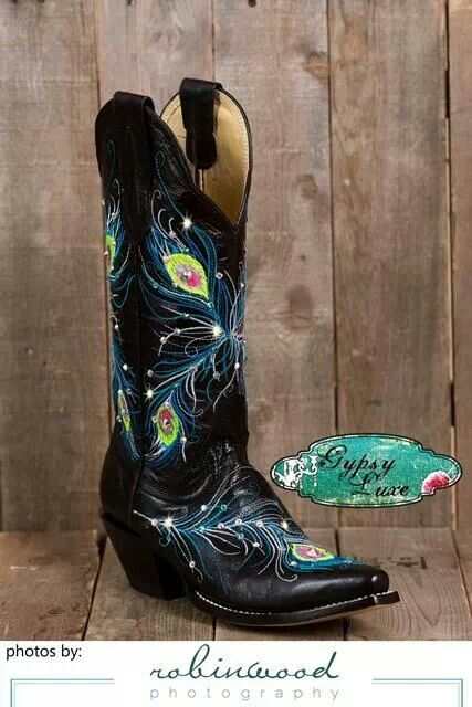 GypsyLuxe swarovski cowgirl boot bling