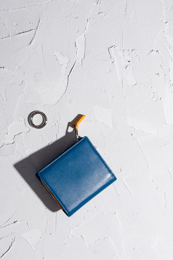 16FW LUCCICA pouch wallet - pale blue #LUCCICA #no02paleblue #16FW #SLG #pouch