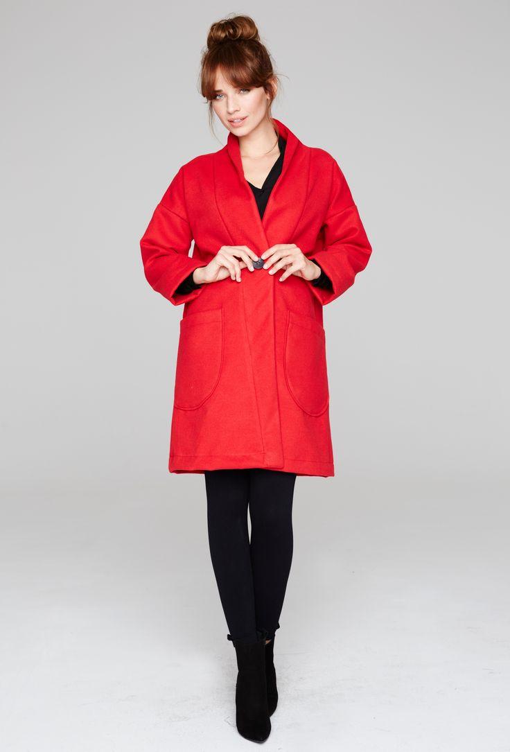 #red #coat