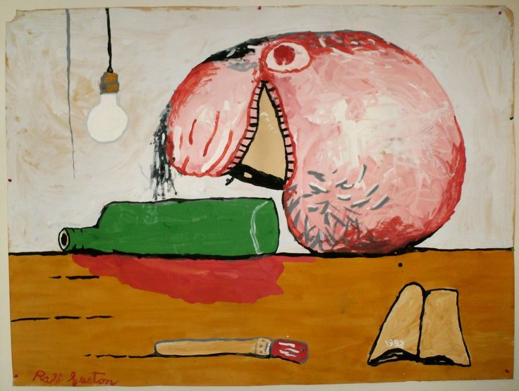 after Philip Guston