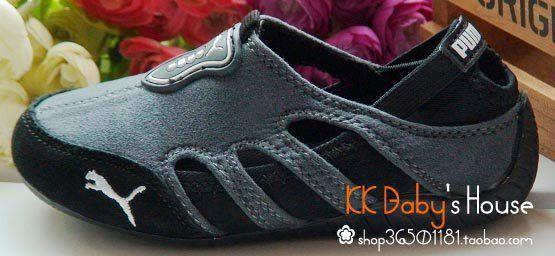 Sepatu Puma Sport Abu- hitam3 in stock  Sepatu puma sport, dapat di gunakan untuk boy dan girl, dari bahan suede sol karet lentur. . untuk ketepatan ukuran silakan ukur anak anda dari telunjuk kaki sampai tumit. Rp. 190,000.00