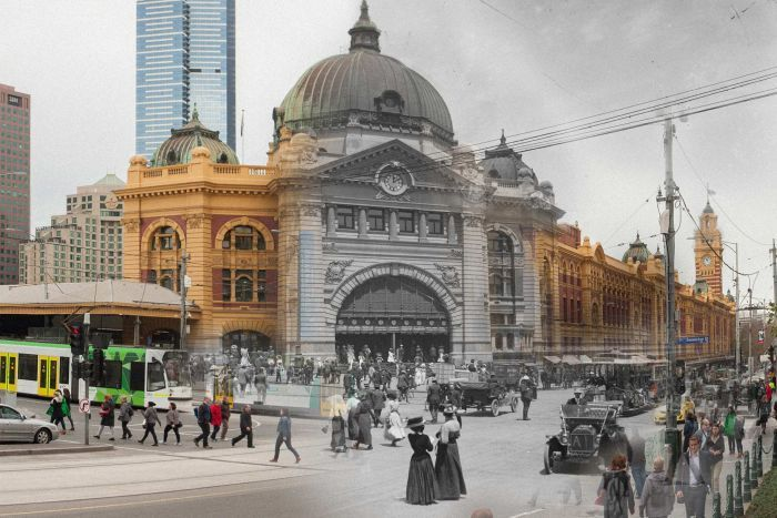 Then and now photos from Australia 1914 & 2014 (4/13)