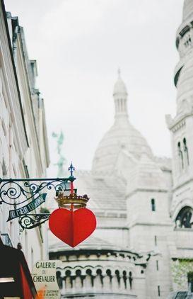 Montmartre, Sacre Coeur - Paris, France http://www.pinterest.com/mariamula1965/streetsigns/