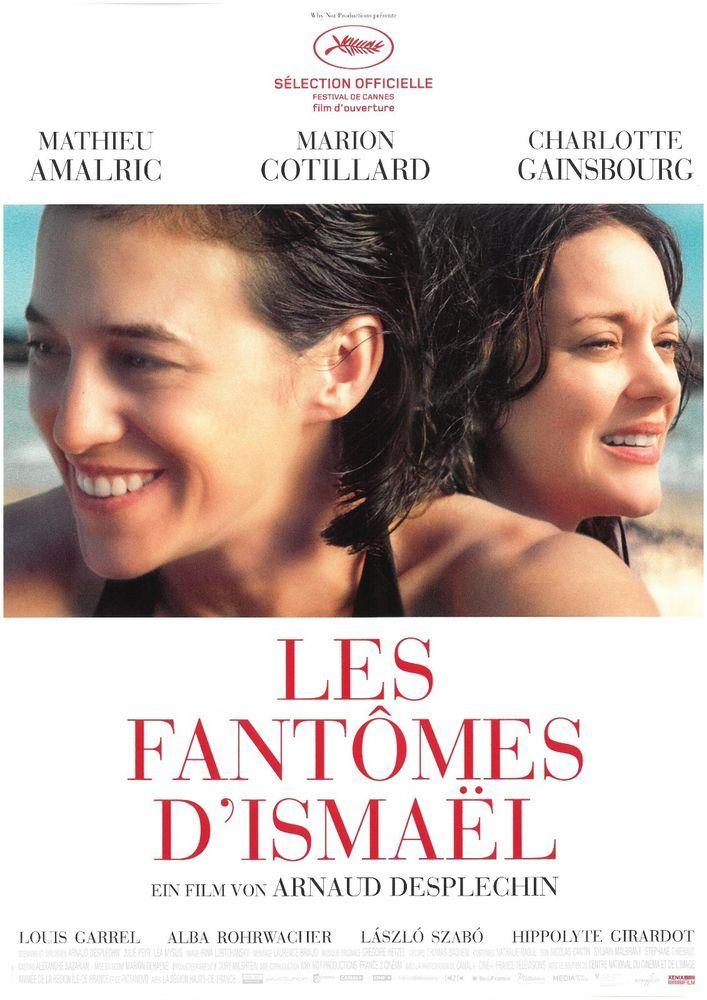 LES FANTOMES D'ISMAEL - ORIG. FILMPOSTER A4 CHARLOTTE GAINSBOURG 2017